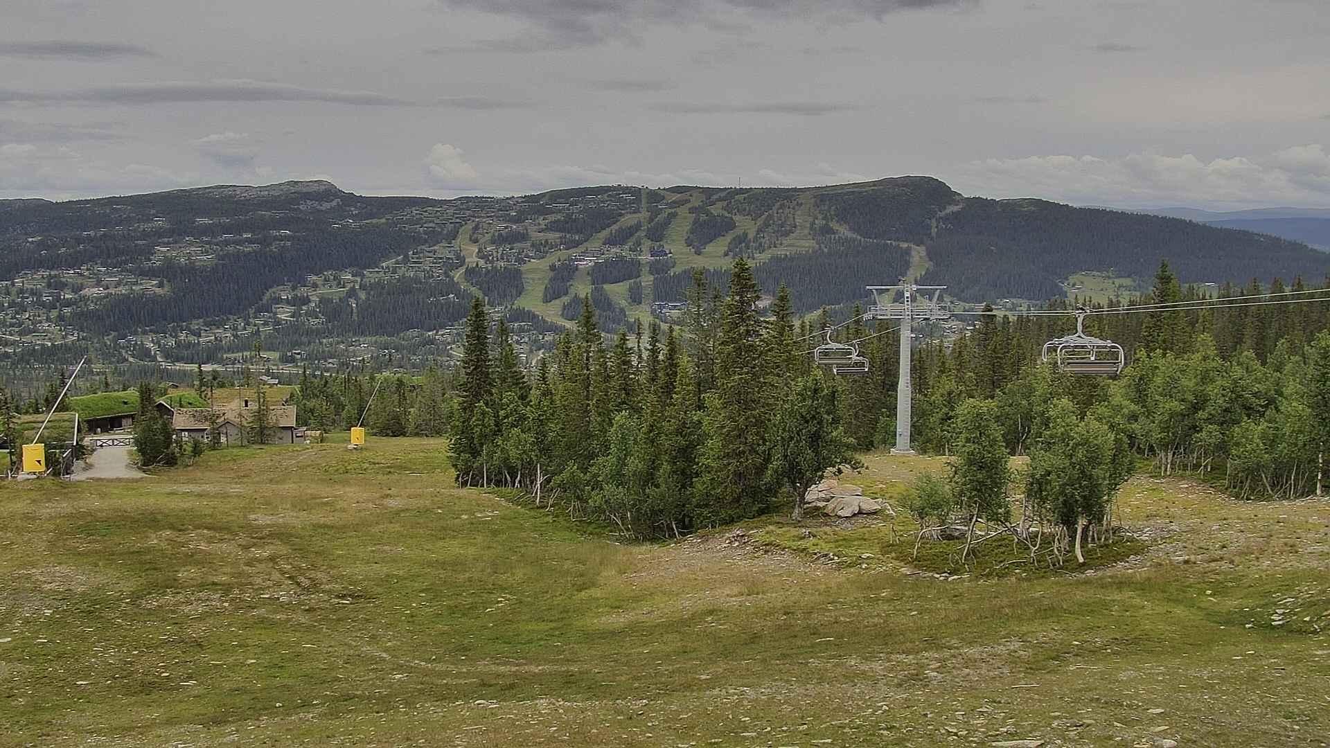 Kvitfjell webcam - Varden sector ski station